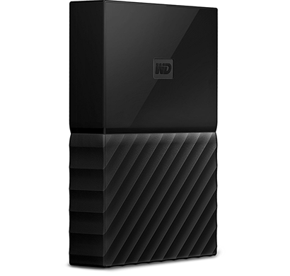 WD My Passport 4TB USB 3.0 Portable External Hard Drive (Black)